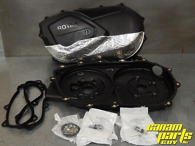 Can Am Commander CVT Clutch Belt Cover and Back Plate Update Kit