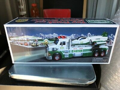 Hess 2014 Toy Truck & Space Cruiser w/ Scout Light Sound 50 Years NIB