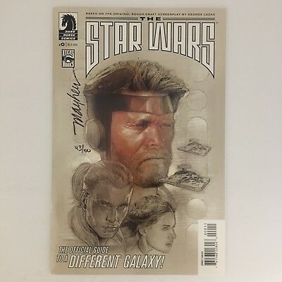THE STAR WARS #0 Mike Mayhew SIGNED w/ COA 43/100 Dark Horse Dynamic Forces NM!!