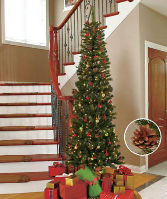 The Lakeside Collection 7-Ft. Slim Prelit Trees -