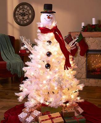 The Lakeside Collection Snowman Tree Topper -