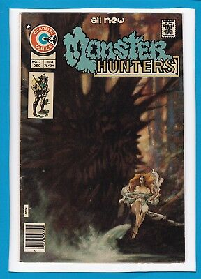 Monster Hunters #3_December 1975_Very Fine/near Mint_Bronze Age Charlton Comics!