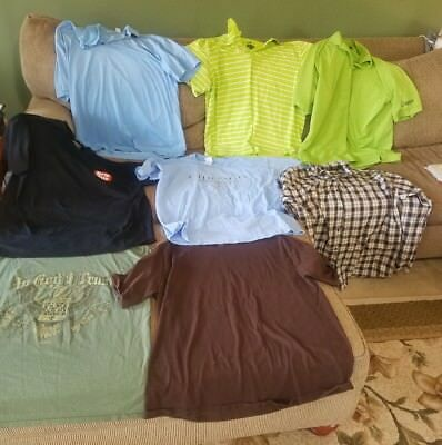 Mens clothes XLarge XL mixed lot of 8