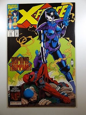 X-Force #23 Early Deadpool!! Beautiful NM- Condition!!