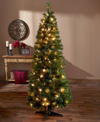The Lakeside Collection 6-Ft. Pre-Lit Pop Up Christmas Tree -