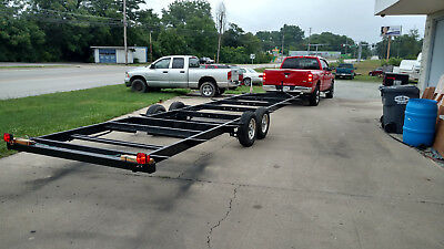 Tiny House Trailer Frame, Ready to go, 30 foot, Electric Brakes