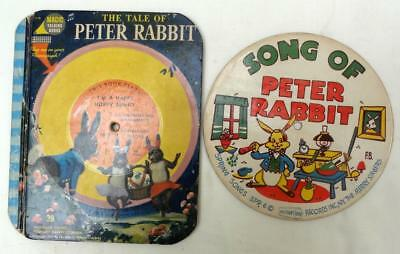 Vintage Magic Talking Book - The Tale of Peter Rabbit 1955