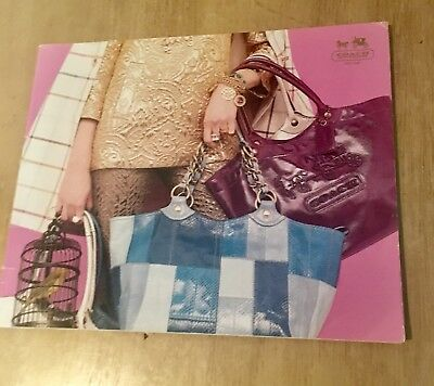 Coach Fashion Handbags and Shoes  Accessories Catalog collectible