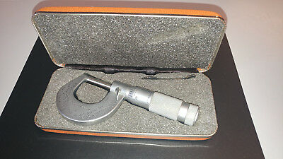 "micrometer 1"" Brown & Sharpe with case"