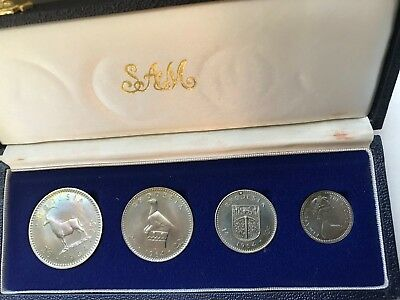 1964 Rhodesia Proof Nickel Set Coins - SUPER RARE! - Only 2060 EVER MINTED