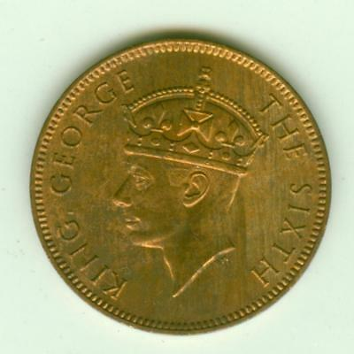 Seychelles 1948 2 Cents-Lot Z2