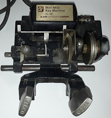 Ilco Mini Mite 008 Key Duplicator, Cutter Machine