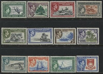 Gilbert & Ellice Islands KGVI 1939 set to 5/ mint o.g.