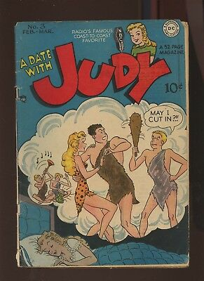 Date With Judy 3 GD/VG 3.0 *1 Book* 1948,Golden Age! Romance! By Graham Place!