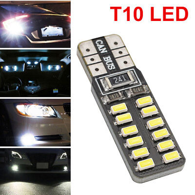 T10 W5W Parking Tail Durable Car Dashboard Light 3014 24SMD Auto DC12V Bright