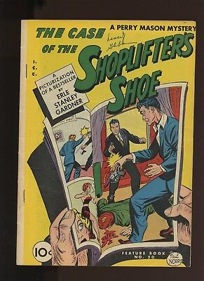 Feature Book 50 FN 6.0 * 1 Book Lot * 1947,Golden Age! Detective-mystery Comic!