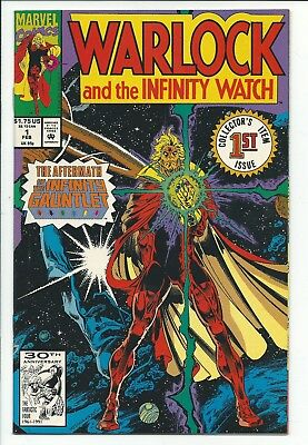 Warlock and the Infinity Watch Lot # 1 - 25 Jim Starlin Thanos Infinity Gauntlet