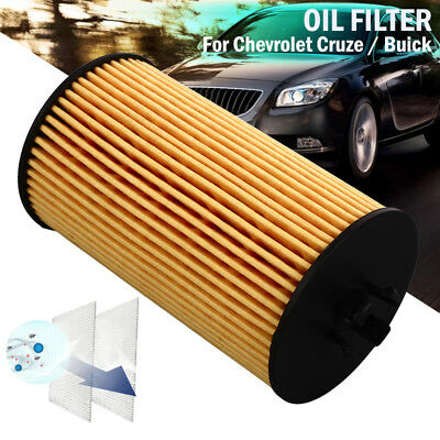 HU6122X Replacement Fits Multiple Models Car Oil Filter Smooth for Cruze Buick