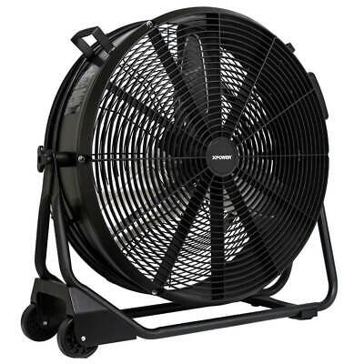 XPower FD-650DC 24-Inch 9,500-Cfm Brushless High Velocity Drum Fan
