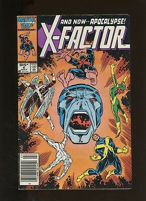 X-Factor 6 VG 4.0 * 1 Book Lot * Apocalypse 1st Full Appearance! 1986! Marvel!