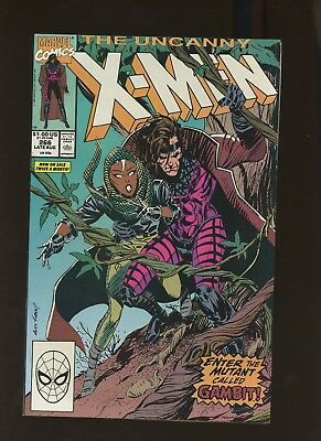 Uncanny X-Men 266 VF 8.0 * 1 Book Lot * Gambit 1st Full Appearance! Claremont!