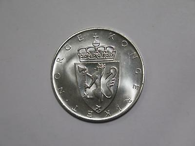 Norway 1964 10 Kroner Constitution Comem Silver Unc World Coin Collection Lot