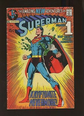 Superman 233 VG 4.0 *1 Book* Sand Superman 1st Appearance! Neal Adams Cover!