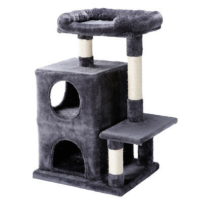 260cm Cat Tree Tower Condo Furniture Scratching Post Kitty Play House Furniture