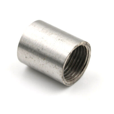 "1/2"" 0.5"" Female x Female Threaded Pipe Fitting Stainless Steel SS304 Popular CH"