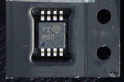 LM393D TI SMD Dual Differential Comparator. Supply 2 - 30V. VSSOP pkg. Pack of 5