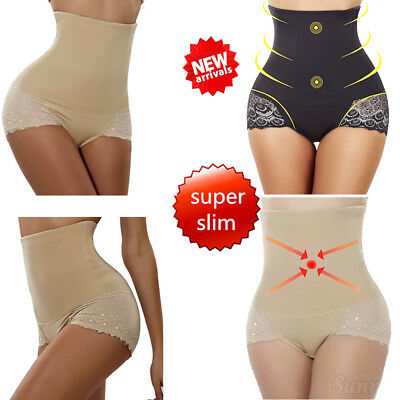 Women Tummy Control Pants Seamless High Waist Slim Body Shaper Magic Knickers