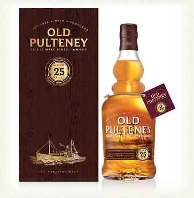 Old Pulteney 25 Jahre Highland Single Malt Scotch Whisky 0,7l, alc. 46 Vol.-%