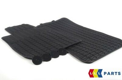 Bmw New Genuine X1 Series E84 All Weather Rubber Floor Mats Front Pair 2336798