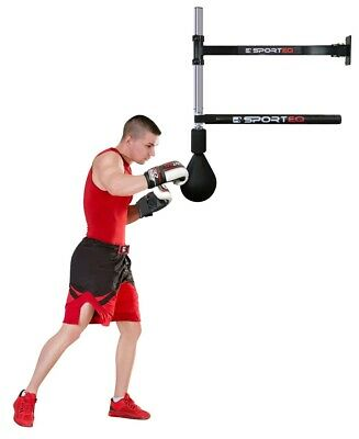 MMA Boxing Fitness Training Punching Spinning Slam Bar Adjustable Wall Mounted