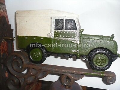 Cast Iron Series 1 Land Rover Bell