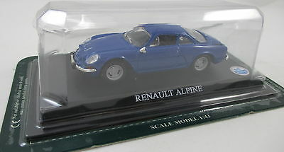 Del Prado - Car Collection 07  Renault Alpine  1976   1:43