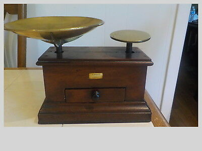 "19Th Century Antique Balance Scale ""s.maw & Son, 11 Aldergate St. London"""