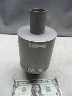 """Veeco Roughing Pump Filter 1-1/2"""" Slip-On Connections 8"""" Long"""