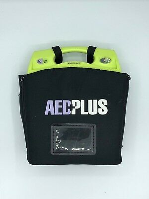 Zoll AED Plus AED with Black Carry Case - Includes generic pads and batteries