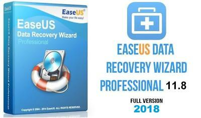 Easeus Data Recovery Wizard 11.8 Professional Full Version Quick Delivery