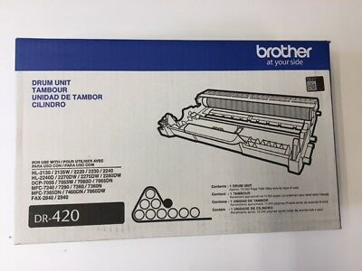 Genuine OEM Brother DR-420 Drum Unit - 12,000 Pages DR420 012502626756