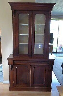 Victorian Mahogany Bookcase / Cabinet. £70 TRY AN OFFER !!