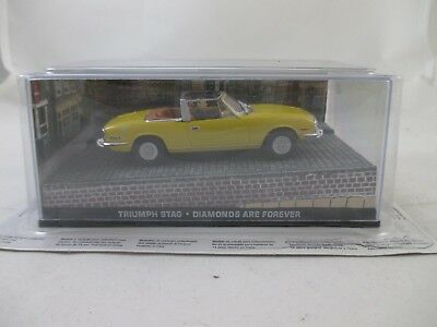 Eaglemoss - James Bond 007 Collection - Ausgabe 18 - Triumph Stag  OVP
