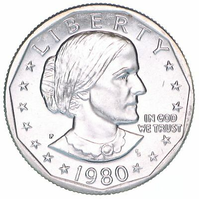 1980 P Susan B Anthony Gem BU Dollar US Mint Coin