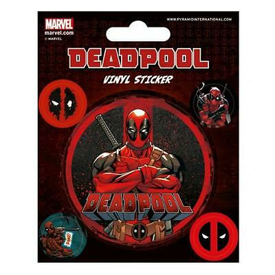 Marvel Comics Deadpool Stickers Wall Gift Fan New Official Licensed Product