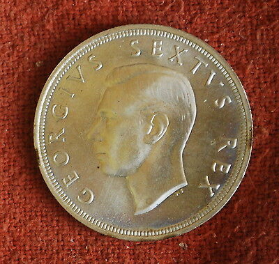 1952 Silver Great Britain George VI South Africa 5 Shillings