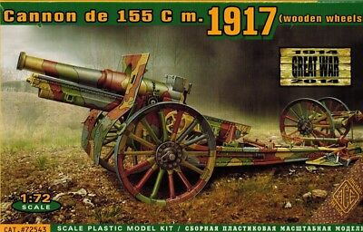 ACE 72543 - Cannon de 155 C m 1917  - 1:72