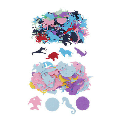 100x Animals Design Paper Throwing Confetti Table Scatter for Wedding Party