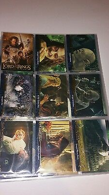 Lord of the Rings Return of the King Collectors Update Edition 91-162 Card Set