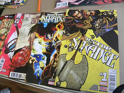 Marvel 2015 8 issues DOCTOR STRANGE #1 to #387 w Prelude reg $40 qq